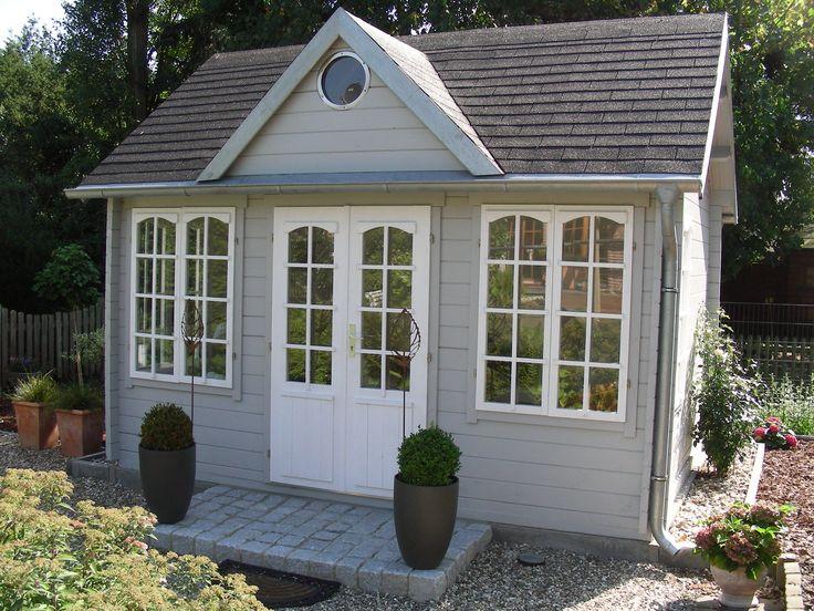 Gartenhaus schwedenhaus streichen Die besten 20+ Gartenhaus grau Ideen auf Pinterest | Graue gärten ...