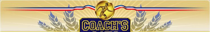 Welcome to Coach's Oats