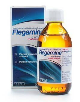 Flegamina baby 4mg / 5ml syrup raspberry flavor 200ml expectoration of thick…