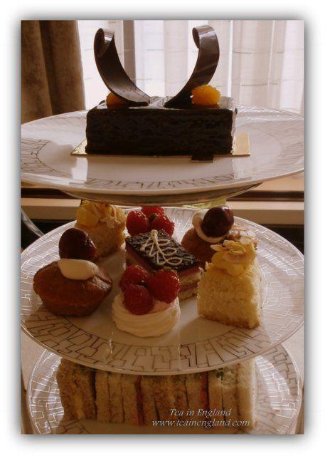 Wellington Afternoon Tea, Wellington Lounge at Intercontinental Hotel Park Lane London