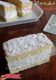 merendine kinder paradiso ricetta torta kinder paradiso