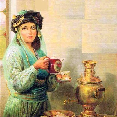Turkish woman in Ottoman clothes