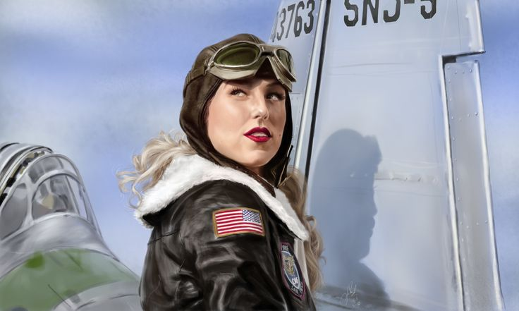 ArtStation - Devoted to the Sky, planes and beautiful lasses, Vlad. Mineev