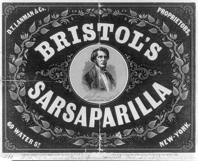 17 Best Images About Vintage Sarsaparilla Adverts On Pinterest