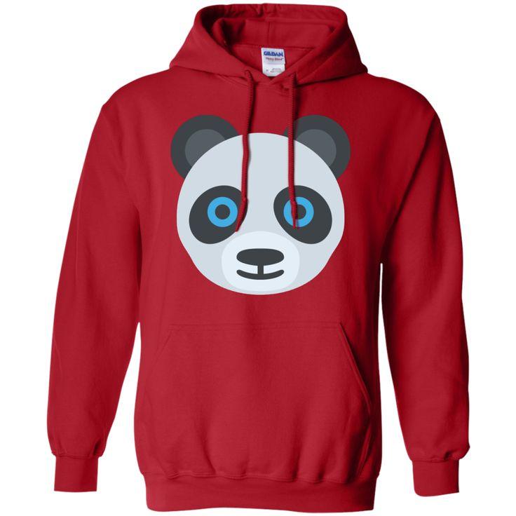 Panda Face Emoji_T Shirt_navy Hoodie