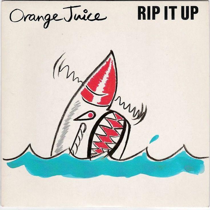 "Orange Juice - Rip It Up, 7"" vinyl single, Edwyn Collins, c.1983, new wave #vinyl"
