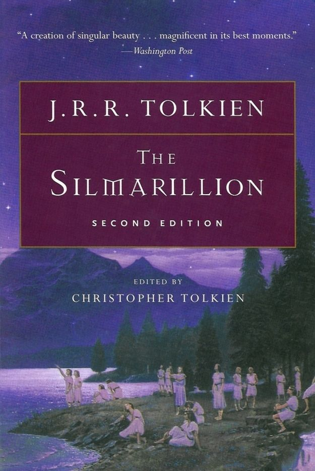 The Silmarillion by J. R. R. Tolkien (1977) | The 25 Most Challenging Books You Will Ever Read