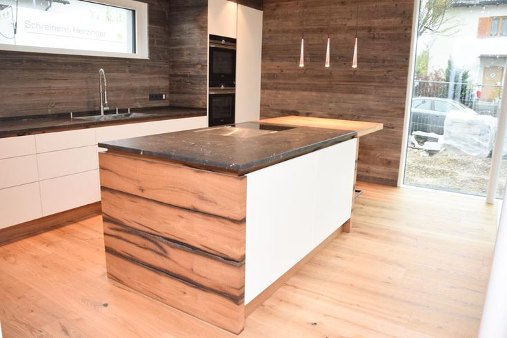 k che altholz grifflos matt wei lackiert k chentr ume pinterest altholz lackieren und matt. Black Bedroom Furniture Sets. Home Design Ideas
