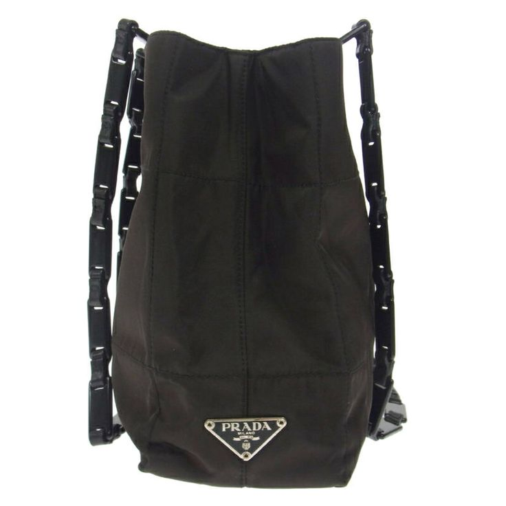 counterfeit prada bags - The vintage Prada Chain Logos Shoulder Bag that I inherited from ...