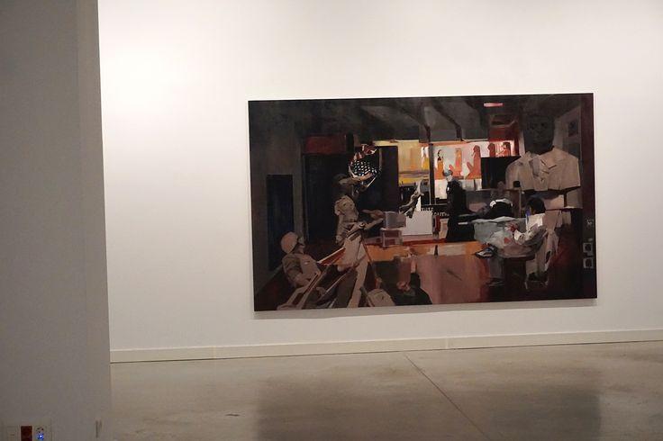 """""""Historia"""", """"El Gran Estudio. Nacho Martín Silva"""" en el  Centro de Arte de Alcobendas. #Madrid #ArteContemporáneo #ContemporaryArt #Art #Arte #Arterecord 2016 https://twitter.com/arterecord"""