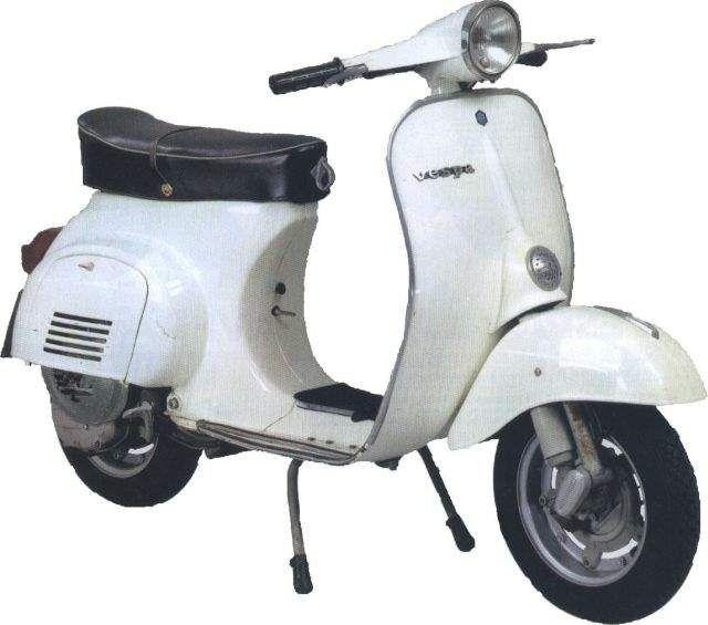Vespa Model History, 1946-2007