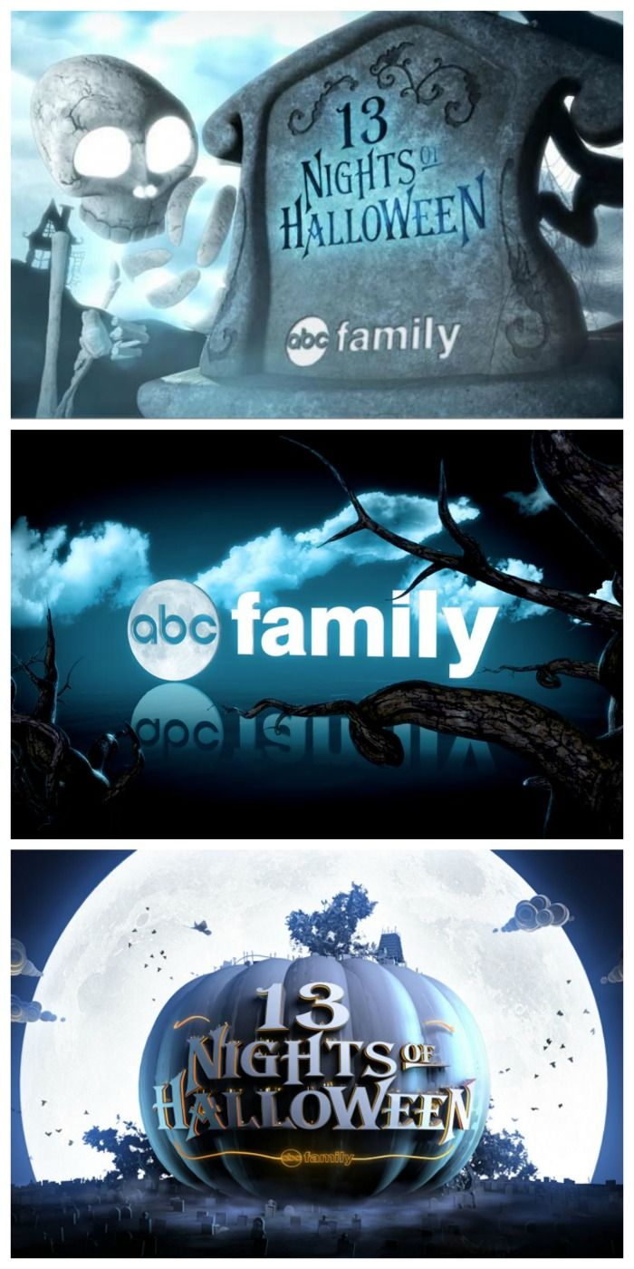 ABC Family Halloween Movie Schedule! 13 Nights of Halloween TV for the Whole Family