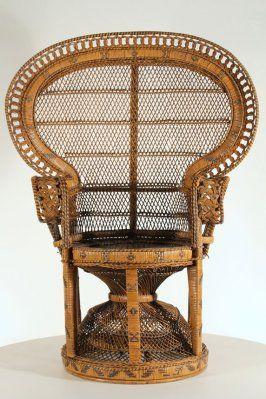 Pauwenstoel Peacock chair, jaren '70