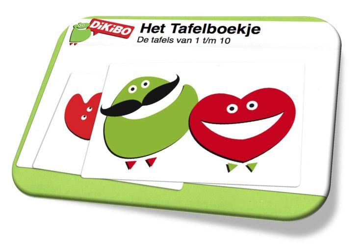 Het nieuwe Tafelboekje van DiKiBO ligt klaar om gratis te downloaden. De tafels 1 tot en met 10 uitgeschreven, voorzien van handige tips, met de matrix van de tafels en die van de tafels van 6, 7, 8 en 9 apart. Nu gratis downloaden op http://nicolettedeboer.com/leerhulp/tafels-leren-tafelboekje/