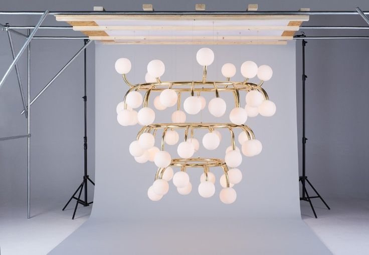 In the run up to Euroluce 2015, Flame's designer Chris Fox and assistant designer James Ward roll their sleeves up to compose a Flame installation for photography. Here's a behind the scenes look at the shoot for you.
