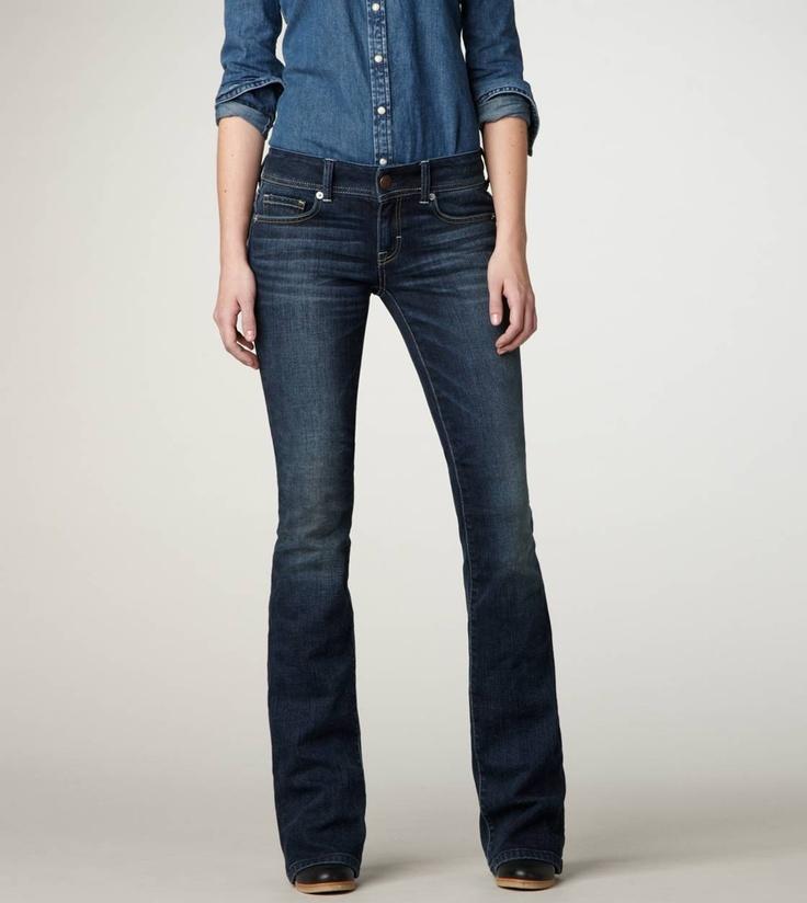 American Eagle original boot cut jeans!