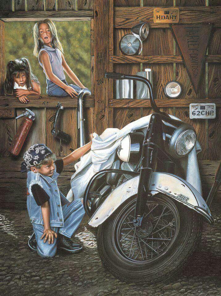 Harley Davidson e os sonhos das crianças...