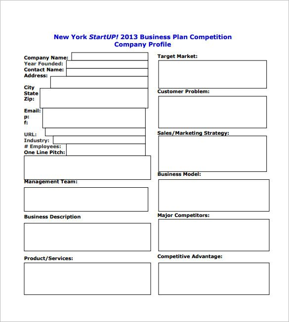 6 Free Simple Business Plan Template Business Plan Template Pdf