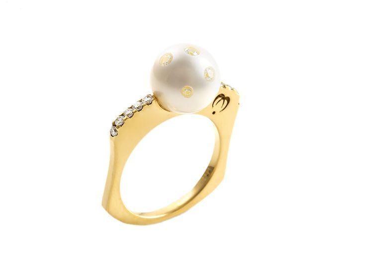 Whisper Pearl Ring   Pearl Ring Online   Lust Pearls   Australia