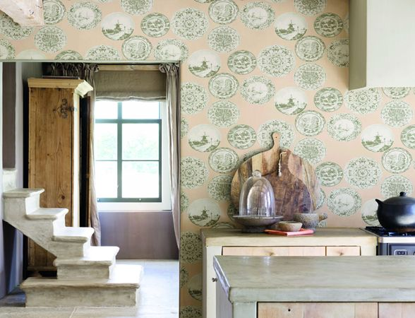Best Retro Rooms Images On Pinterest Retro Room Painted - Unusual wallpaper for walls
