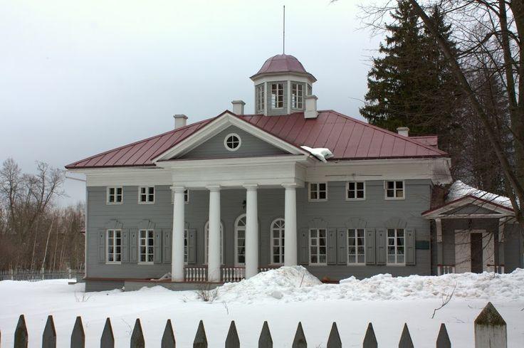 Zakharovo, the villa of grandma of Pushkin