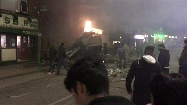 Leicester explosion: Four people confirmed dead
