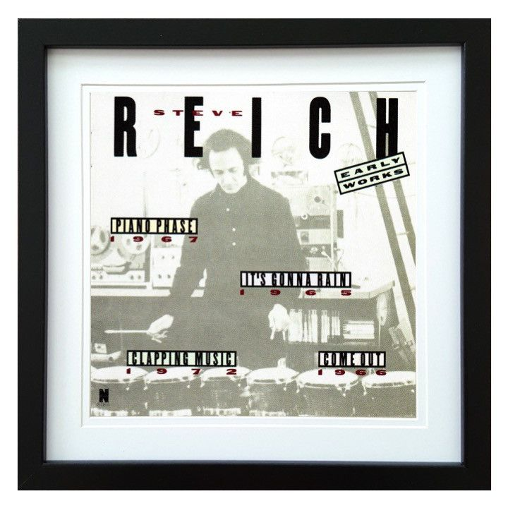 Steve Reich | Early Works Album | ArtRockStore