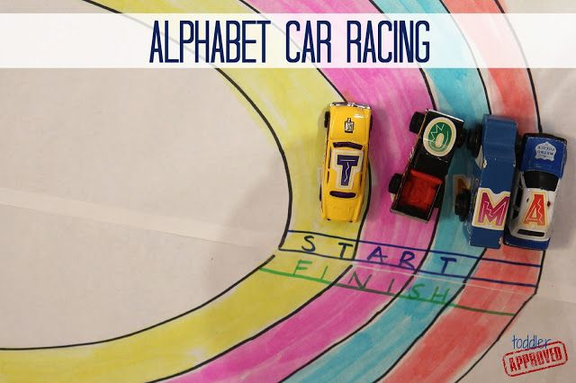 Toddler Approved!: Alphabet Car Racing