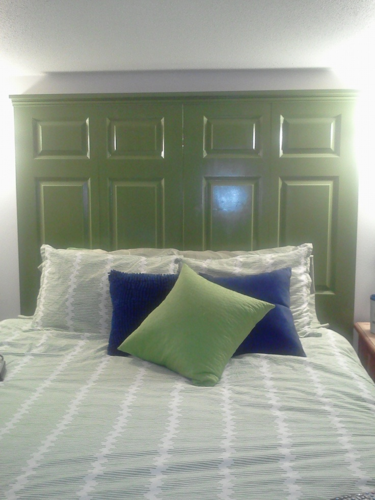 79 best old closet doors images on pinterest home ideas barn these are old closet doors that i painted and attached together to make my head board eventshaper