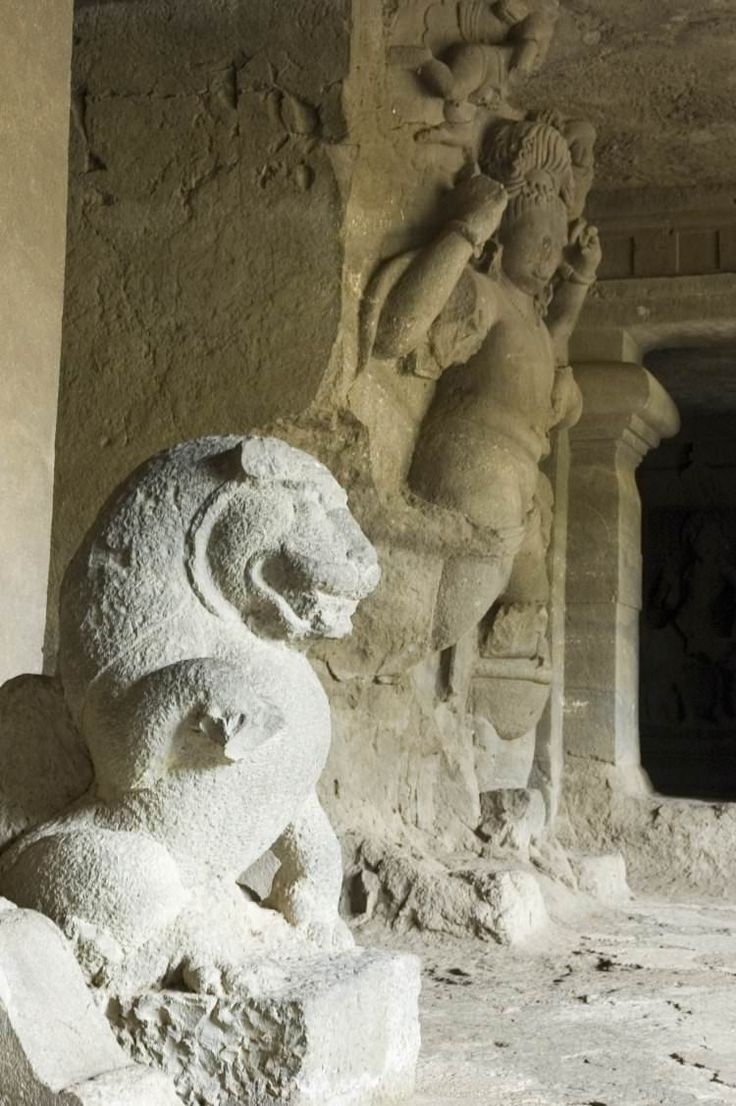 <p>Northeast of the Gateway of India in Mumbai Harbour, the rock-cut temples on Gharapuri, better known as Elephanta Island, are a Unesco World...