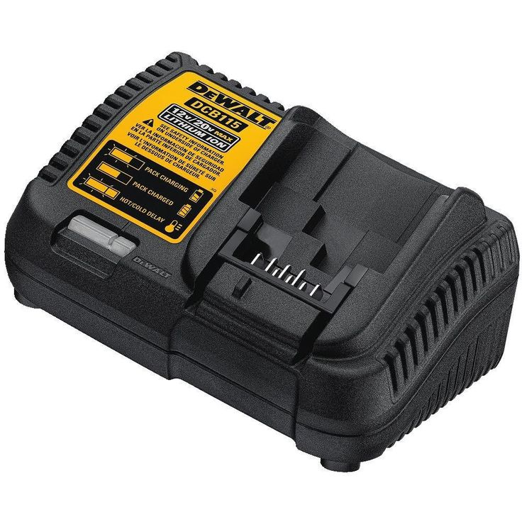 DEWALT Battery Charger 12V-20V  Li-Ion Batteries Power Tool #DeWALT
