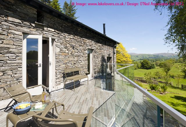 Extension to a Lakeland barn, Outgate.