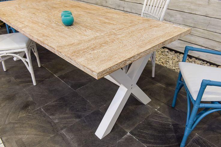 Tavoli : MELATI tavolo teak/ferro 590€