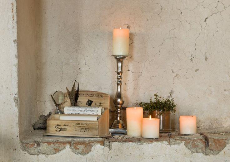 Letter holder & candle holder