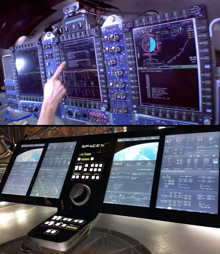What makes each of these dashboards good or bad? space-pics: Dashboard comparison: Dragon v2 vs Orion