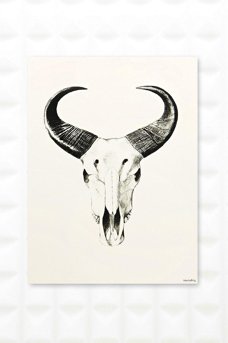 African Bull Wall Art