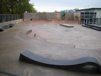 Seaskate - Seattle Center Skatepark - Queen Anne, Seattle, WA. USA