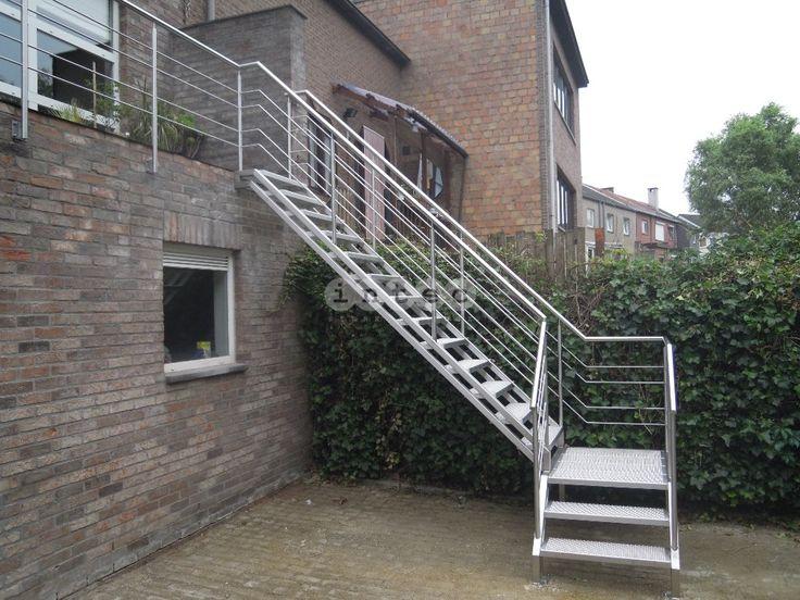 17 beste idee n over buiten trappen op pinterest decks for Trap buiten hout