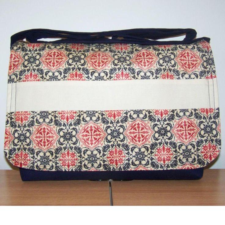 $45.00 CUSTOM Mummy Messenger Bag 1 by With2LittlePeas on Handmade Australia