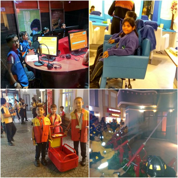 RBK Global School is a CBSE affiliated school in Mumbai organized the adventure education tour to Kidzania at 27th January 2017.