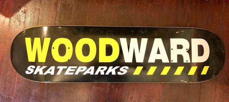 Woodward Skateparks Skateboard Deck #Woodward