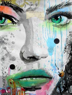 "Saatchi Online Artist Loui Jover; Drawing, ""bloom (SOLD)"" #art"