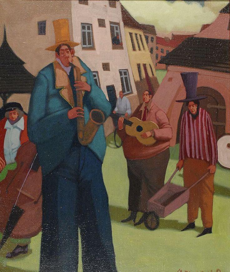 """Orkiestra"", 1992 Jacek PAŁUCHA"