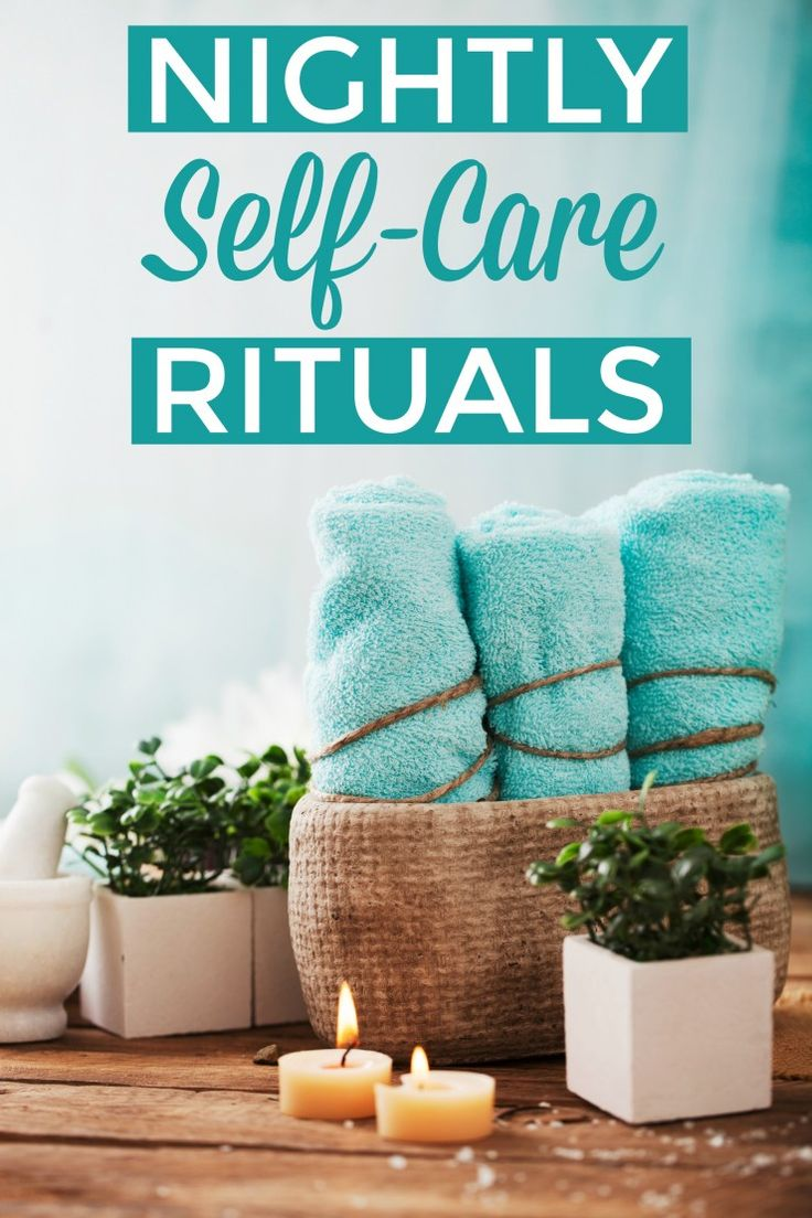 Try one or more of these 7 nightly self-care rituals for busy moms to help you be ready for the next day!