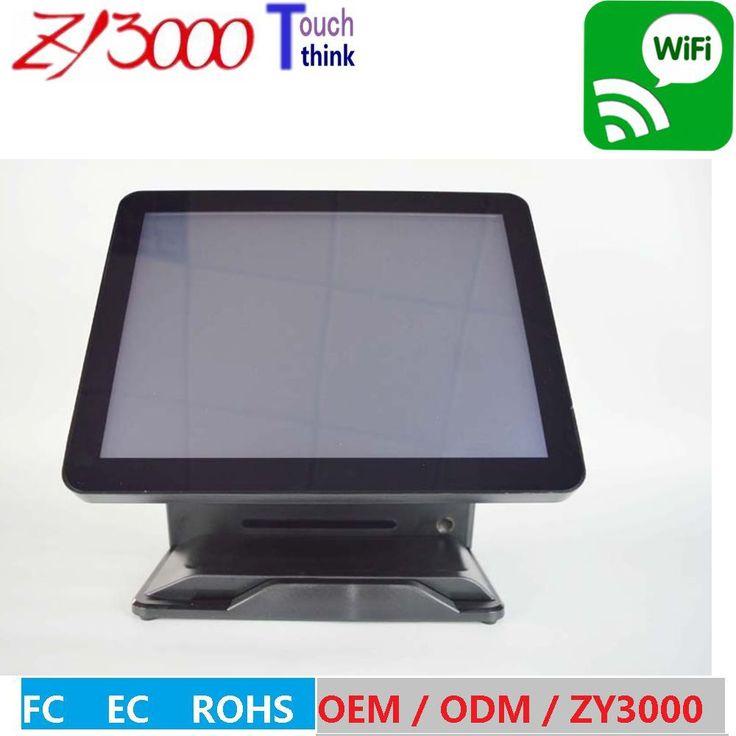 Оптовая 4 шт/лот Q8 Черный Фабрика Супер двойной экран все в одном емкостный сенсорный экран Pos терминал с MSR уход reader