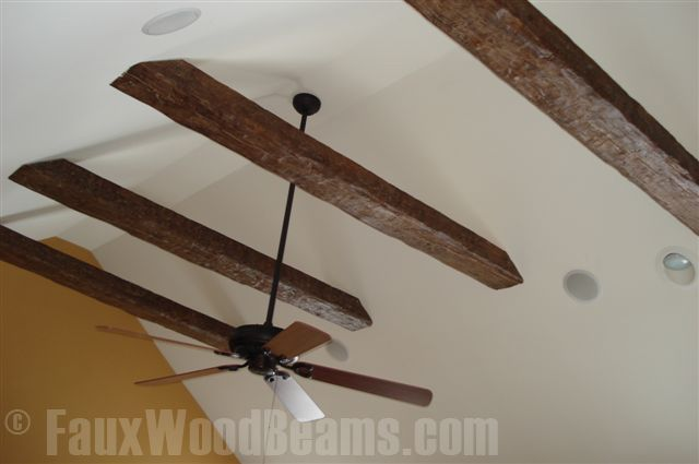 25 best faux beams ideas on pinterest wood beams faux for Real wood box beams