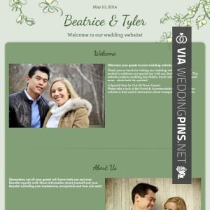 Wow - james maby wedding website   CHECK OUT MORE GREAT WEDDING WEBSITE PICS AT WEDDINGPINS.NET   #weddings #wedding #weddingwebsite #weddingwebsites #events #forweddings #hot #love #romance