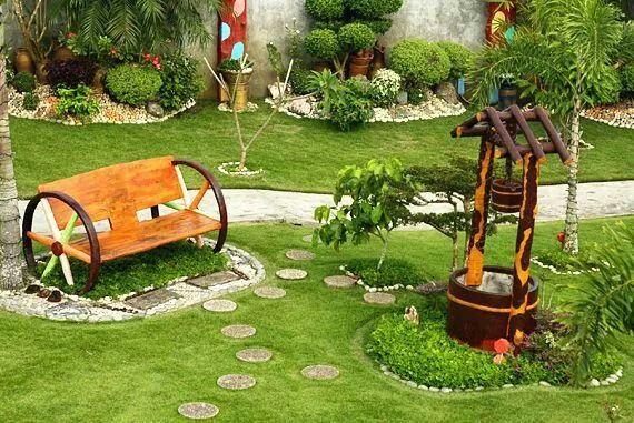 Jardin jardin y detalles de flores pinterest for Garden design ideas philippines