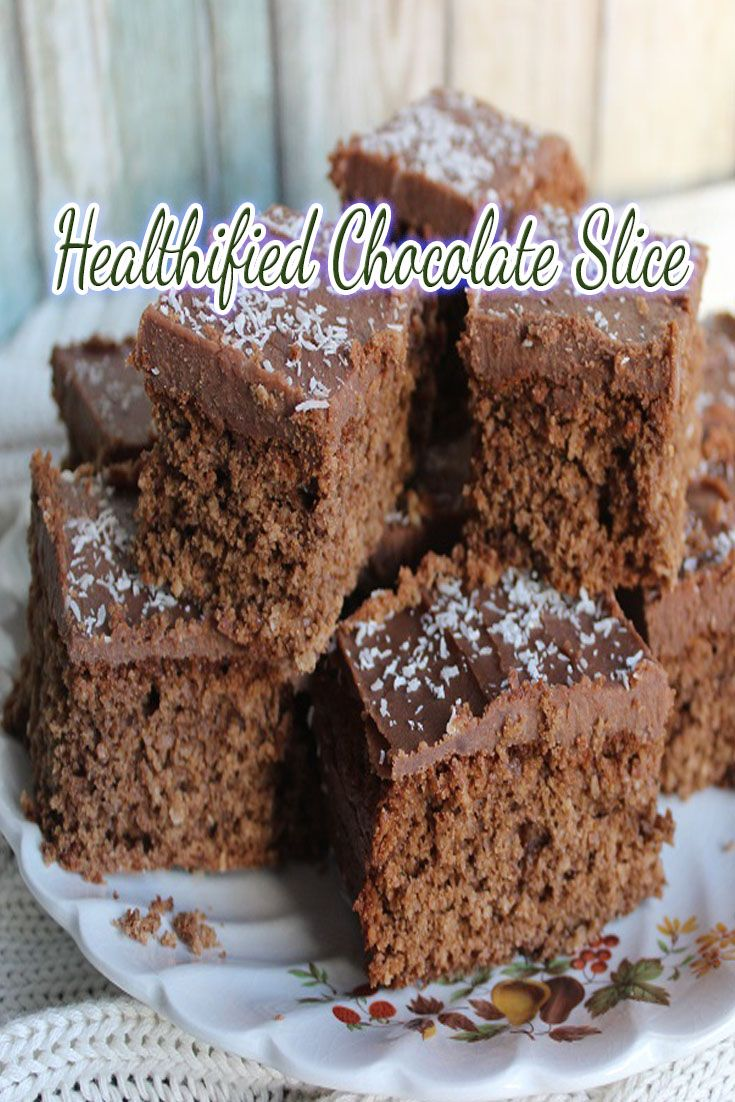 I was looking at our 5 second chocolate slice recipe and wondered how I could make it just a little bit more wholefood-ish, so I came up with this and it was perfect!  The taste was just as yummy!