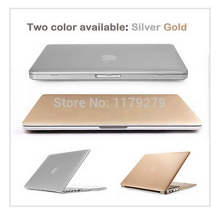 laptop Gold/Silver Sleeves Covers sleeve notbook Hard Cases For Macbook air 11 pro 13 retina 12 15 For Mac book without logo #Affiliate